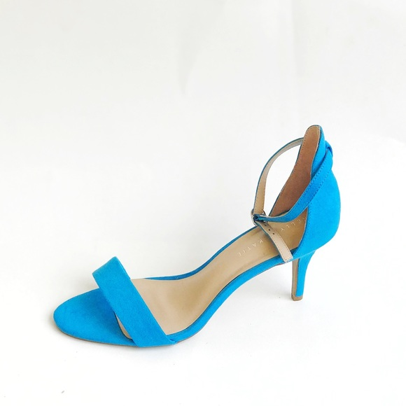 532894450be6 Kelly and Katie blue suede heels